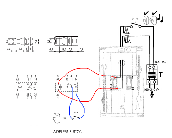 nutone door bell wiring diagrams door bell diagram #2