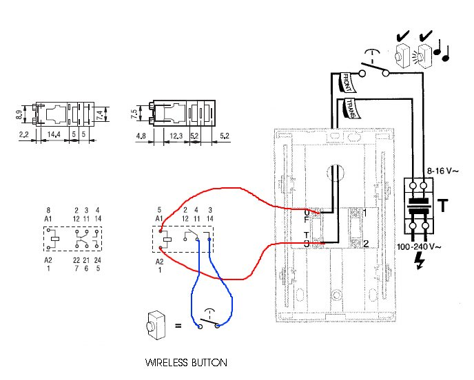 home doorbell wiring diagram with Door Bell Extension on Diode Voltage For Doorbell further Basic Bathroom Plumbing Rough In also Dmc34wire Diagram 16 as well 81 Chev Wiring Diagram additionally Door Bell Extension.