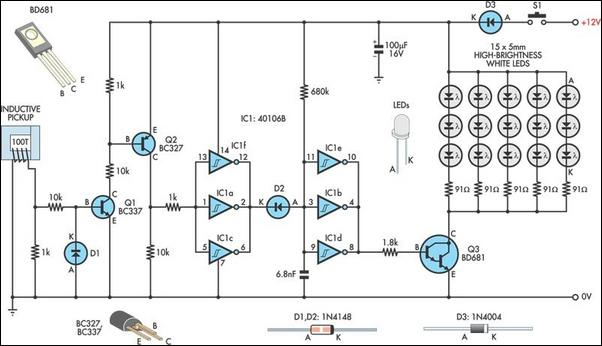 Fushibao induction cooker circuit also Extra Bright Led L likewise Spst Rocker Switch Wiring For Led Strip further 5v Dual Power Supply additionally Car 2 1A Dual USB Port 60179176465. on 12v led light circuit diagram