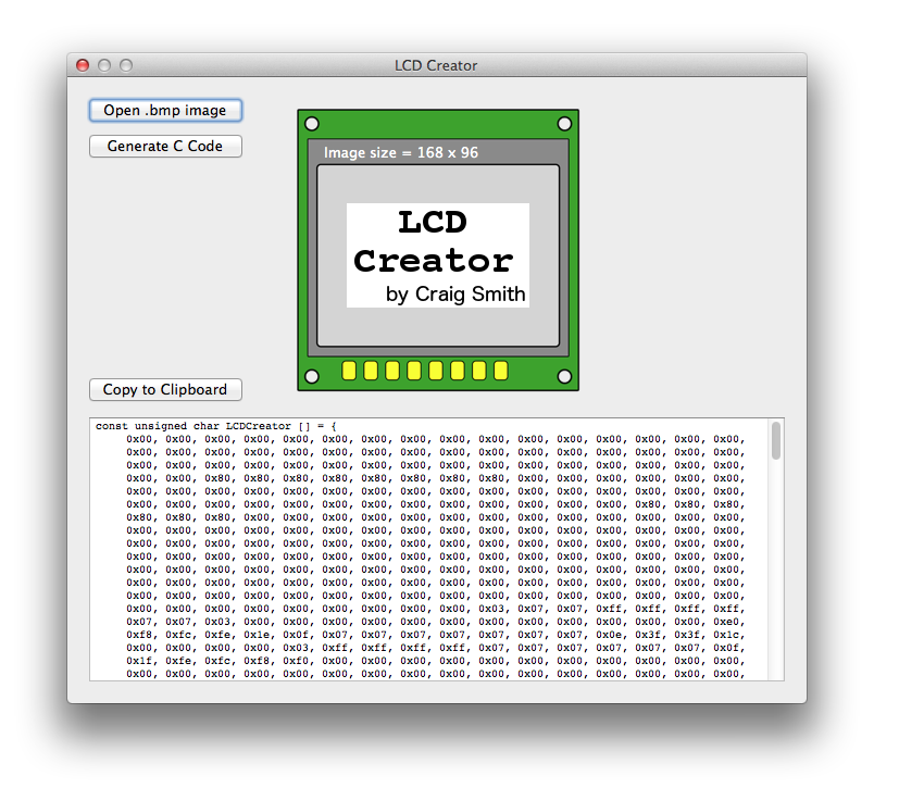 LCD Creator for Mac OSX | All About Circuits