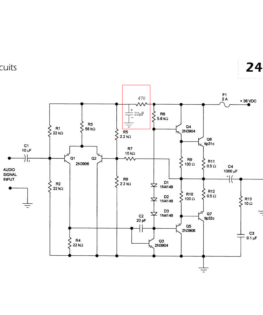 A Friendly Nudge In Designing Multi Stage Bjt Amplifier All Simple Audio Preamplifier Circuit Using Single Transistor 2n3904 Img