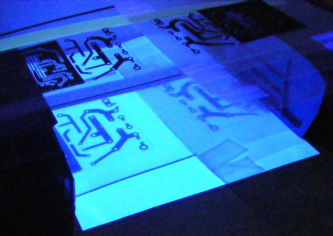 Project Photographic Methods Of Making Pcbs All About Circuits Printed Circuit Board Production Using Uv Nail Curing Lamp Img