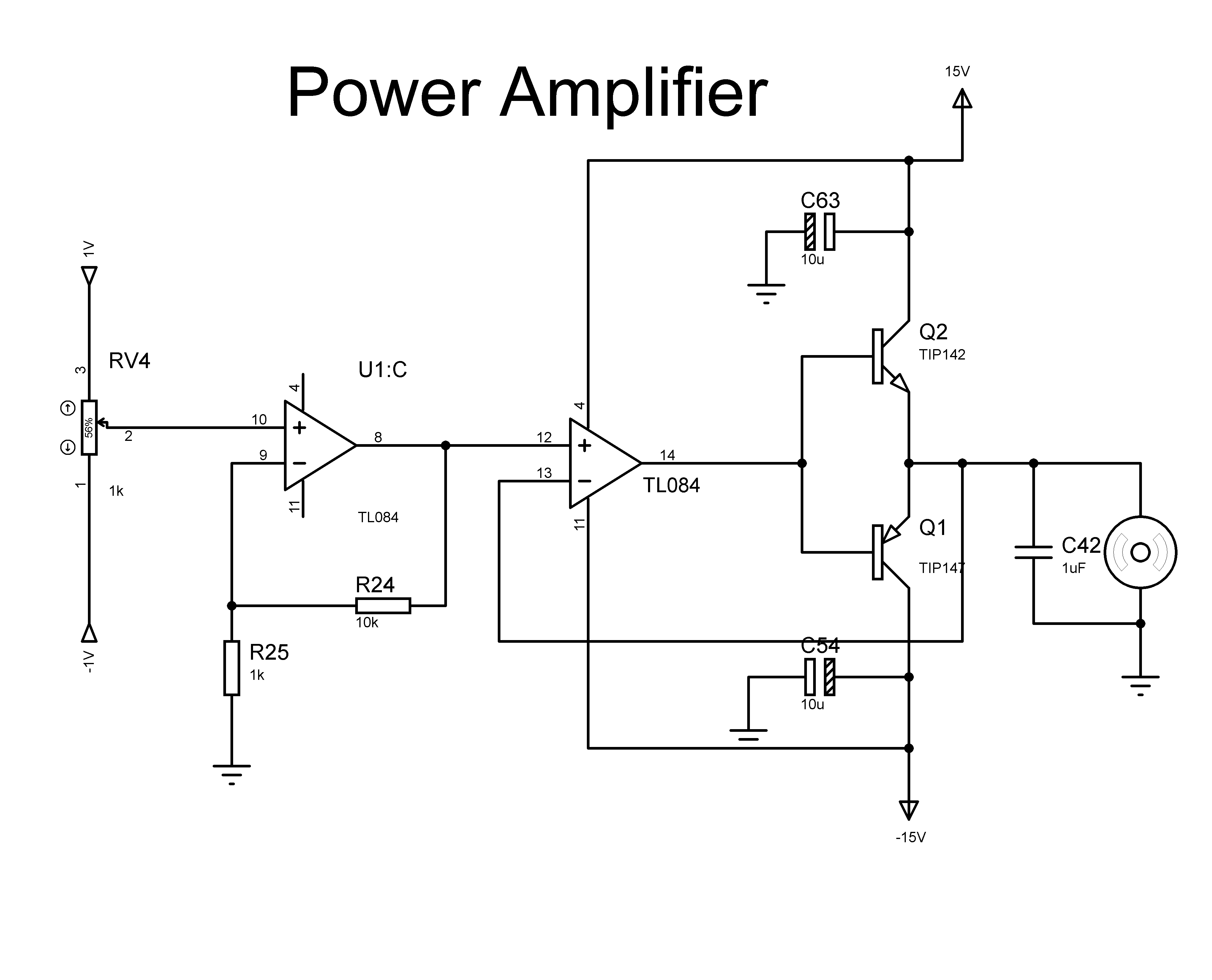 Dc Motor Power Amplifier Issue All About Circuits With Solar Panel Schematic Diagram Also Npn And Pnp Transistor Img