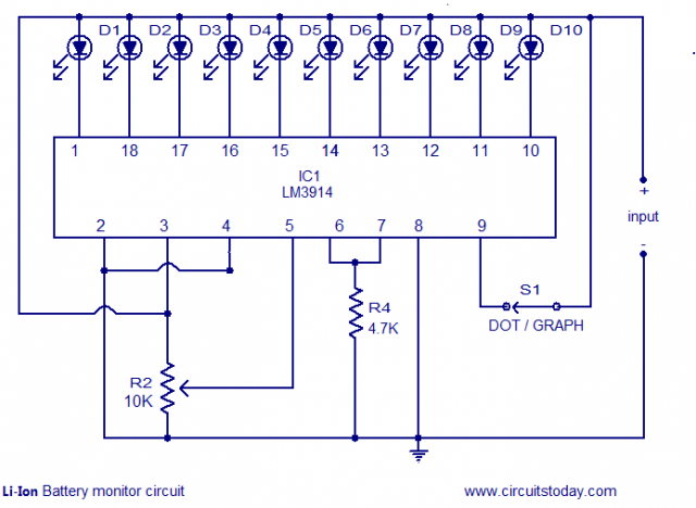 Lm3914 Resistor Values For 3 7 V Li Ion Battery in addition Led Graph Circuits in addition Regulated Power Supply Lm317 besides Difference Between Current Transformer And Potential Transformer besides Digital Voltmeter Circuit Using Pic Micro Controller. on voltmeter circuit diagram