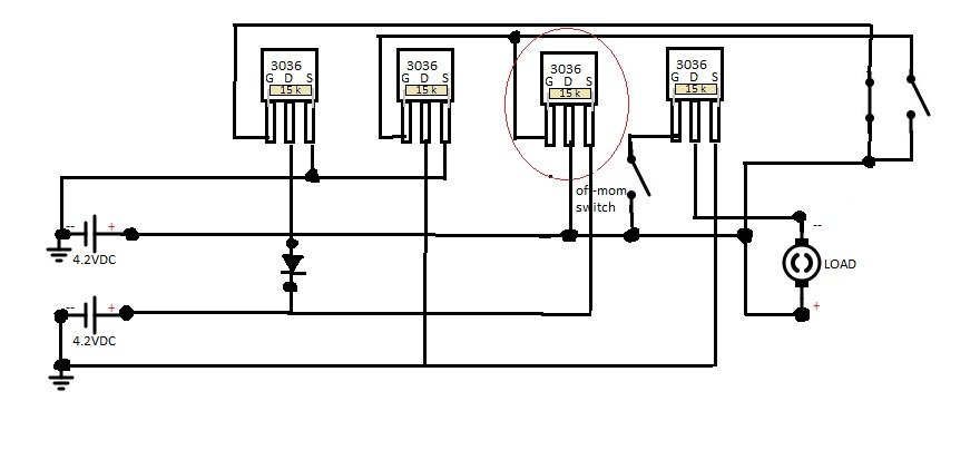 Mosfet As A Switch on switch schematic