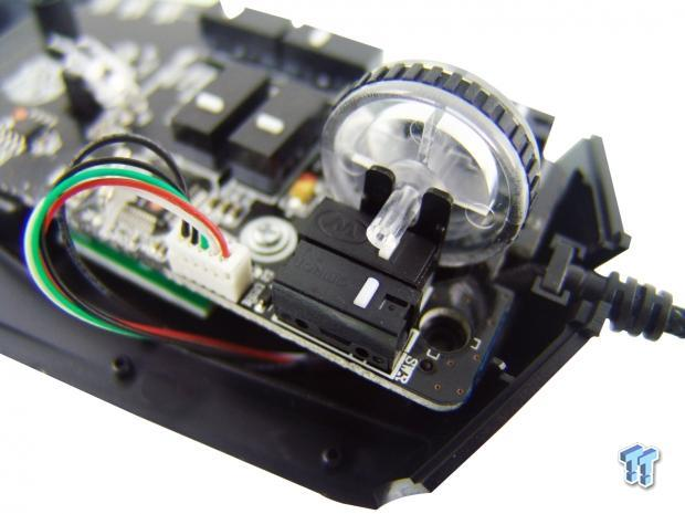 Can I replace the components of a gaming mouse scroll wheel? | All