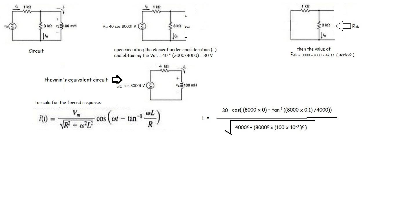 Need Help Solving This Parallel Rlc Circuit All About Circuits Solve Second Order Differential Equation For A Series Img
