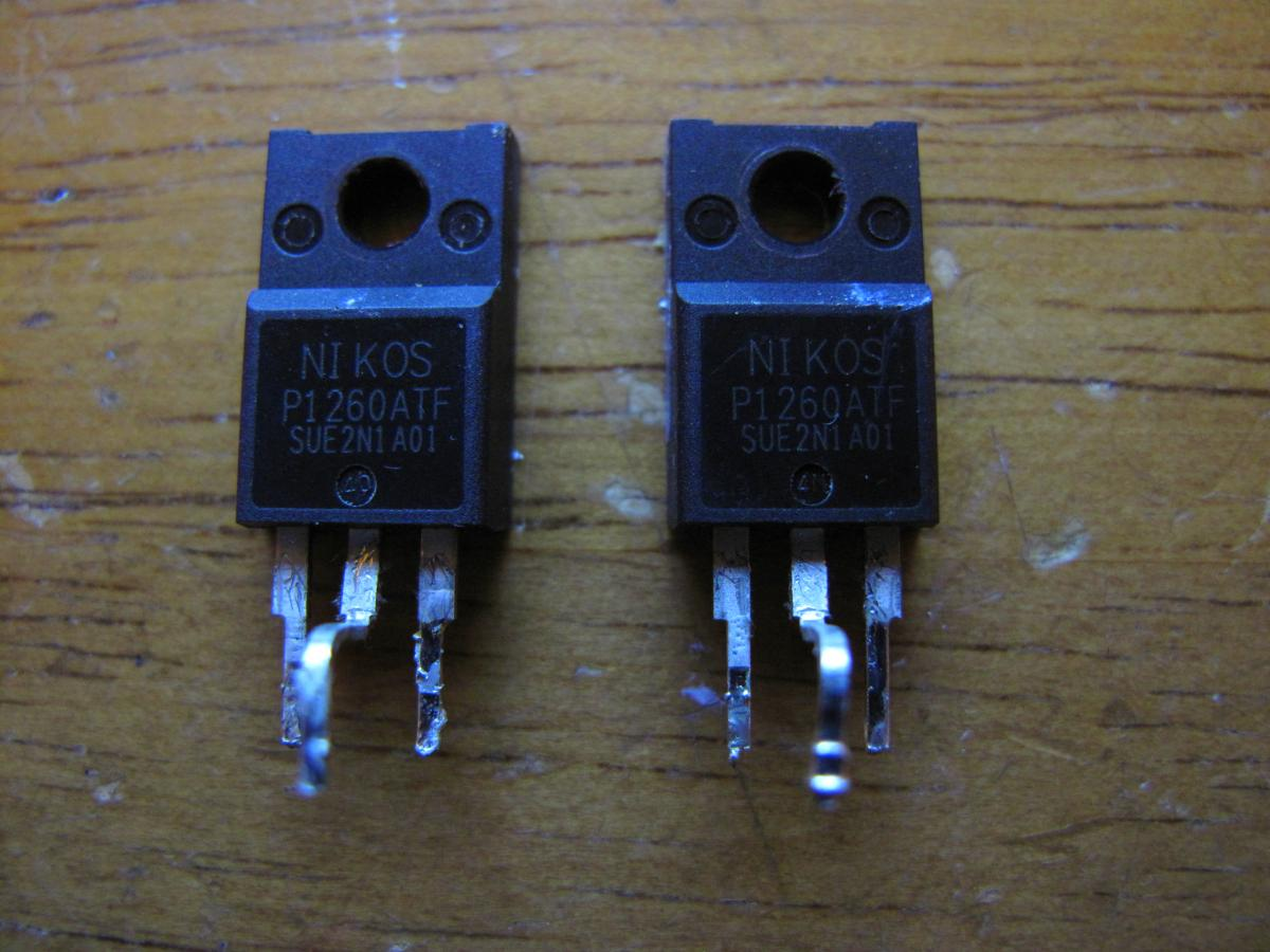 Mosfet Transistors From Lcd Tv All About Circuits Samsung Circuit Board Schematic And A Picture
