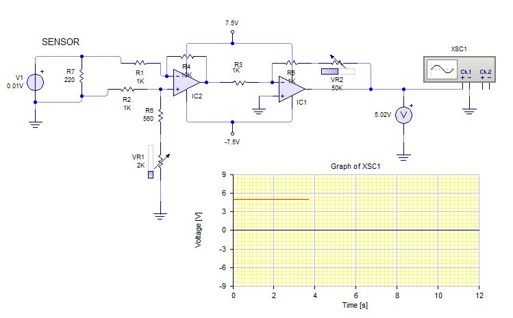 Amplifying sensor signal from 1-10mV to 5V ?   All About Circuits