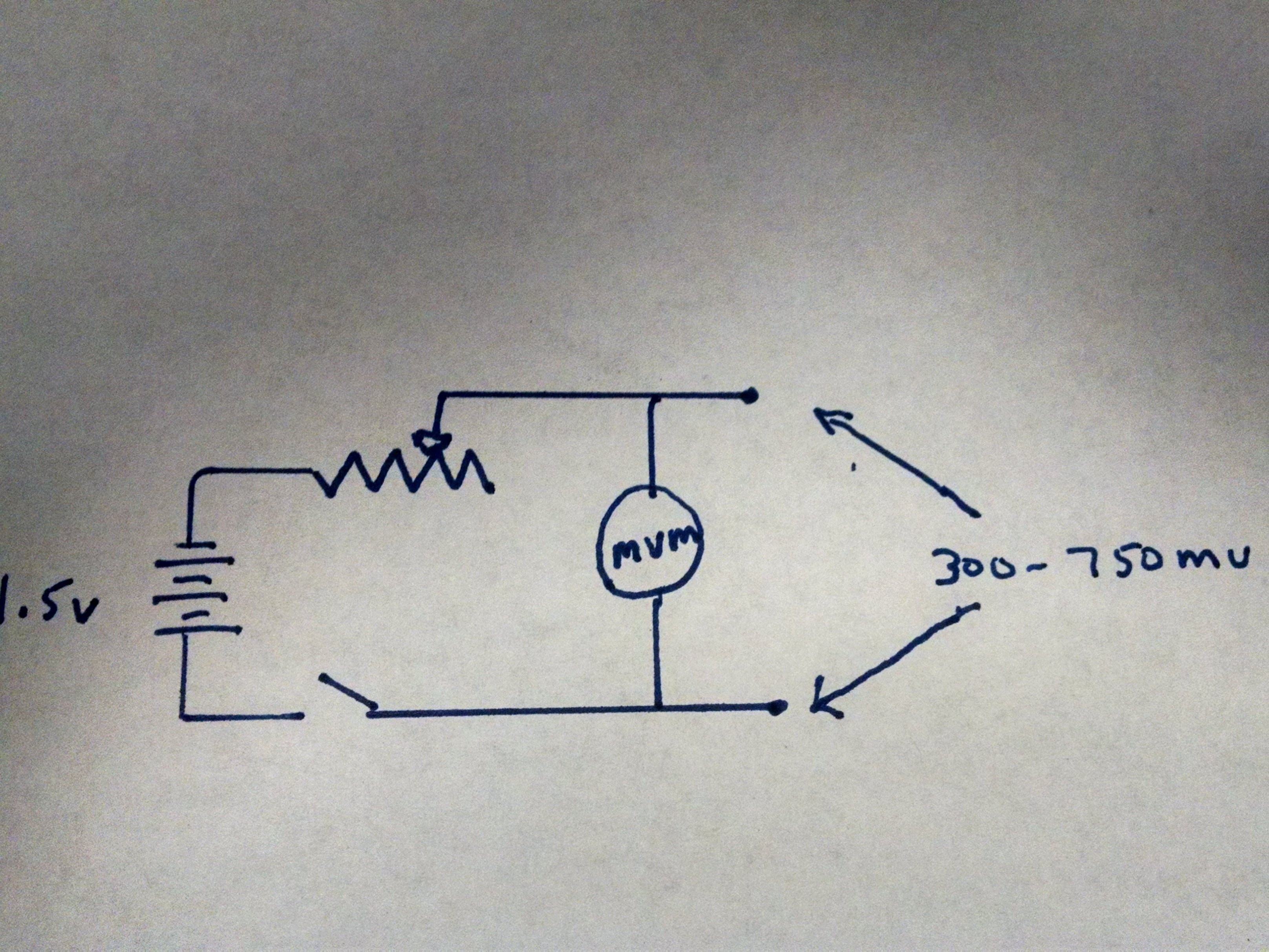 Creating 500mv Power Supply From Battery All About Circuits Thermopile Gas Valve Wiring Diagram This Drawing Is My Original Concept Img